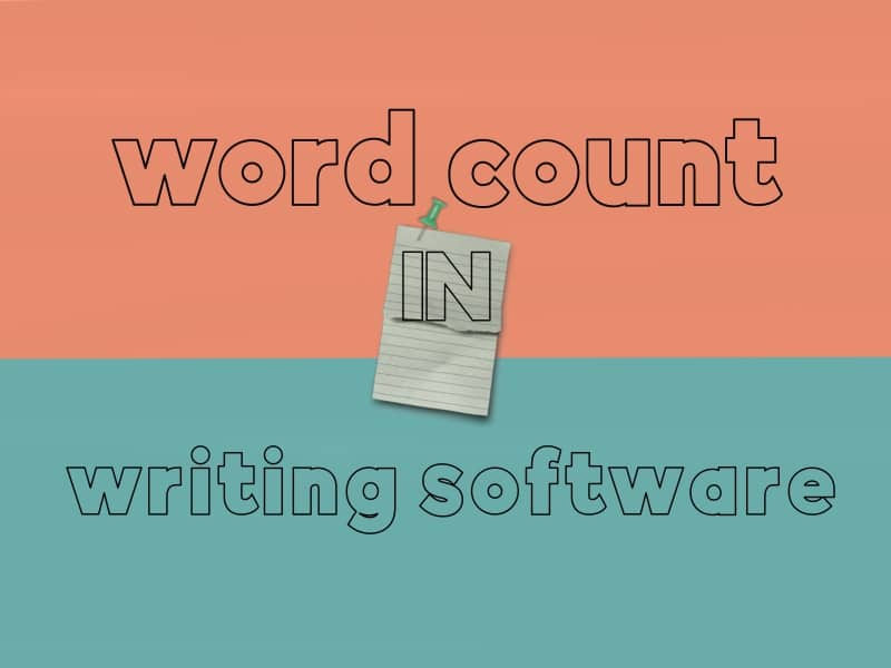word count in writing software