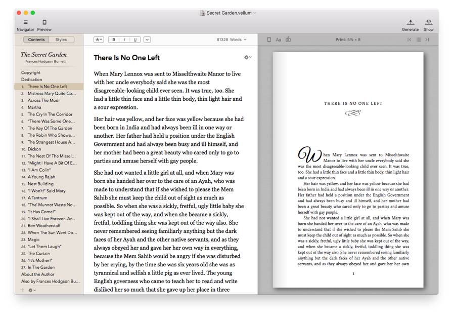 Vellum for mac showing print in previewer